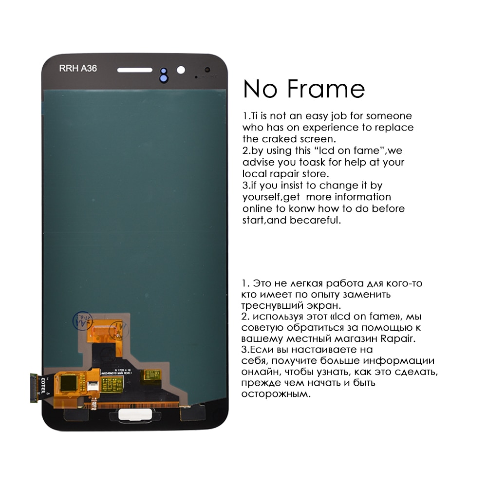Original Display For OnePlus 5 LCD Display Touch Screen Digitizer Assembly Replacement Parts For OnePlus 5  1+5 A5000 With Frame enlarge