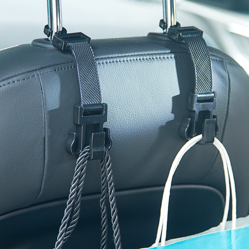 Coche portátil ganchos para monedero titular de la bolsa de gancho reposacabezas trasero automático bastidores gancho de Clip