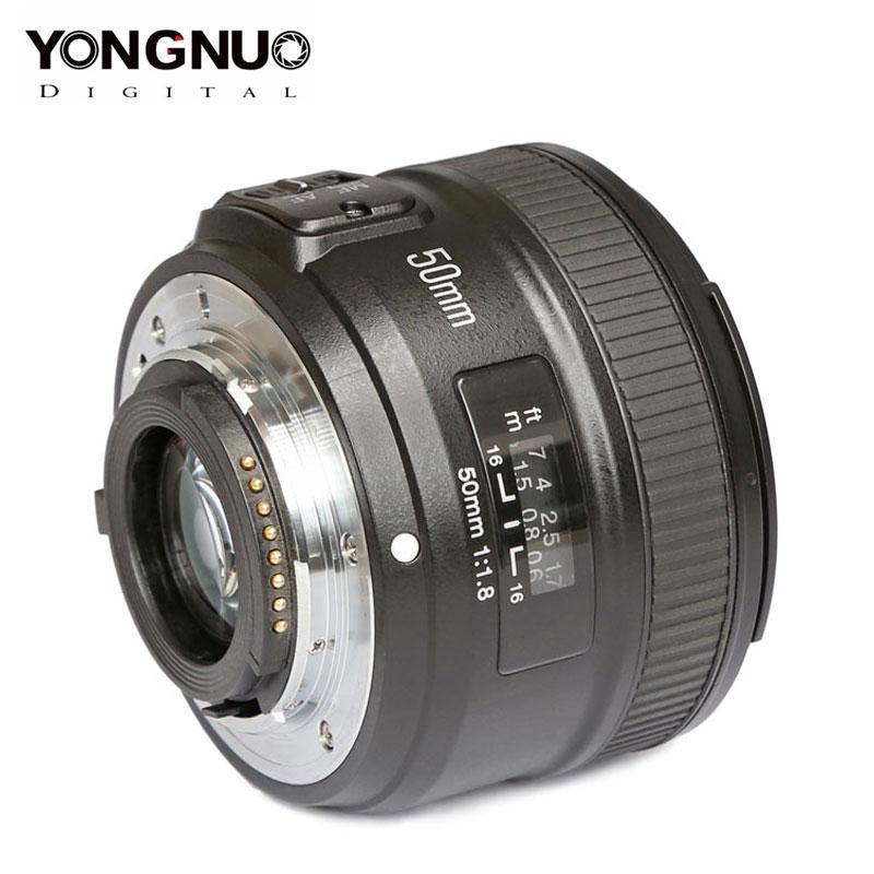 YONGNUO YN50mm F1.8 Lens For Canon EOS 60D 70D 5D2 5D3 600D For Nikon D800 D300 D700 D3200 D3300 D5100 D5200 DSLR Camera Lens