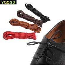 4Pair/lot Round Waxed Shoelaces Waterproof Cotton Shoe Laces Sport Shoes Bootlace Board Shoes Casual Shoes Shoelaces 70cm