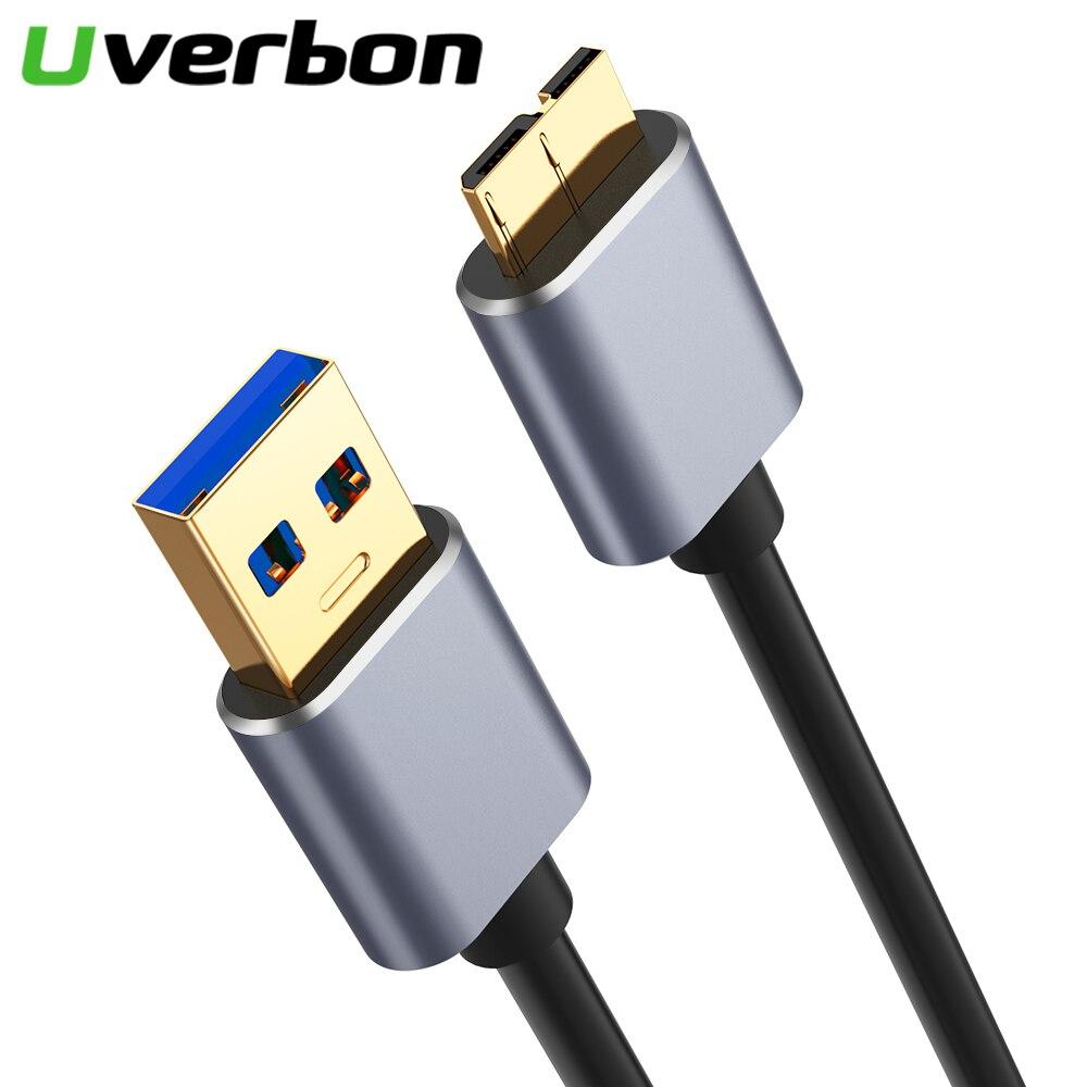 Cable de sincronización de datos USB 3,0 A macho A Micro B...