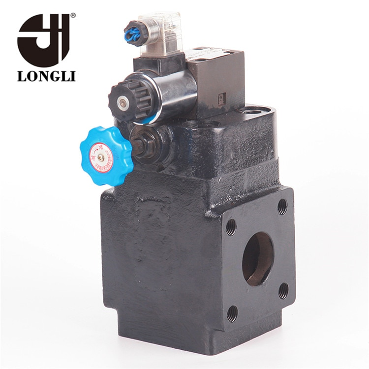 YFD1HF50H1 High pressure Longli hydraulic overflow electromagnetic solenoid valve price low 24v  - buy with discount
