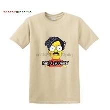Plata O Plomo T shirt homme custom Pablo Escobart T-shirt hombres Silver or Lead T-shirts camisa Hip Hop Tops EL Patron Teeshirt