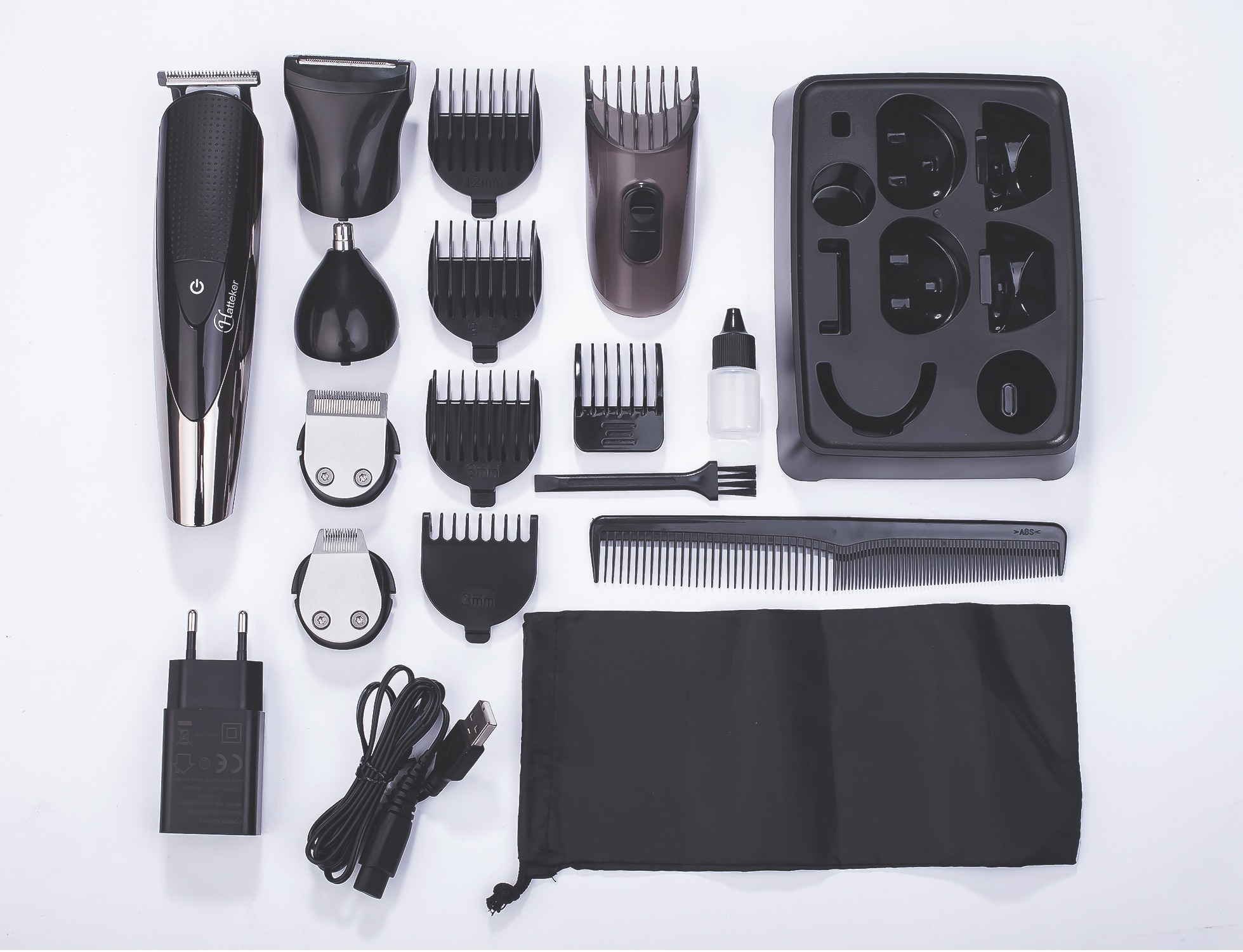 Men Professional Hair Clipper for Men Rechargeable Electric Razor 5 In 1 Hair Trimmer Hair Cutting Machine Beard Trimer Trimmer enlarge