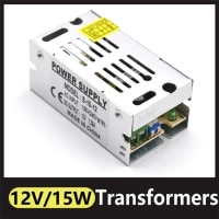 power supply adapter light transformer ac 110v 220v to dc 12v 15w power supply source adapter strip switch led driver adapter