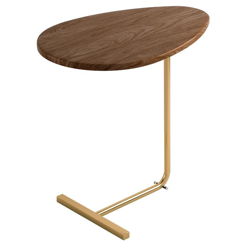 Mesa auxiliar minimalista para el hogar, mueble de mesita de té y...