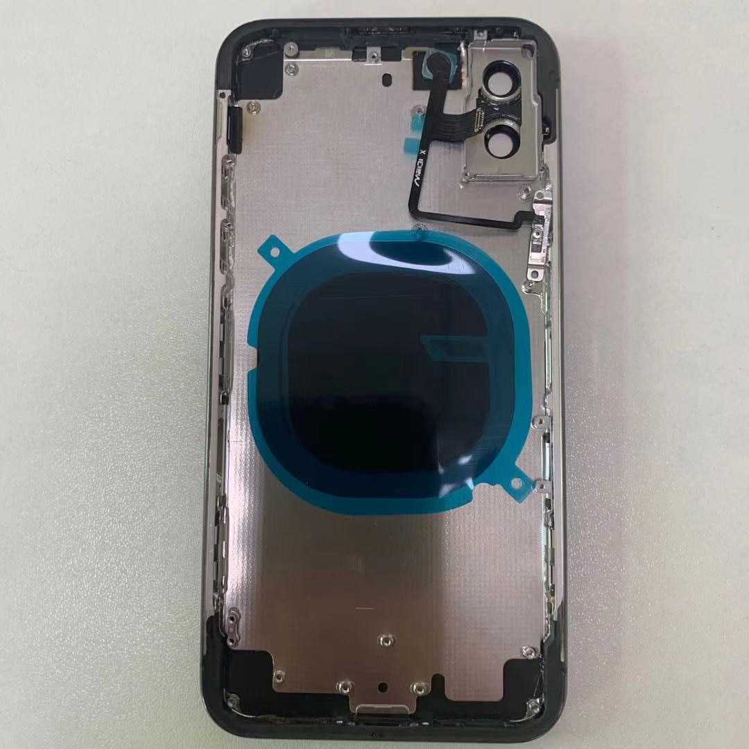 Free Case Rear Cover For iPhone X Housing like 12 Pro, for iPhone X  Convert to 12Pro Housing With Side Button +Adhesive Tapes enlarge