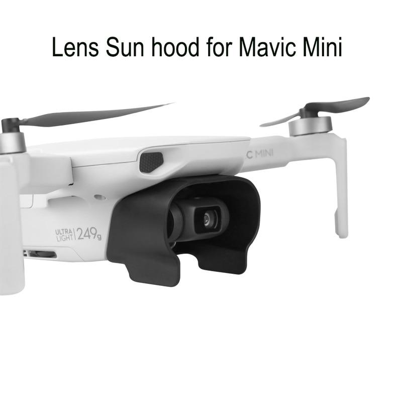 Sonne Schatten Objektiv Haube für Mavic Mini Drone Gimbal Kamera Protector Abdeckung Cap für DJI Mavic Mini Zubehör
