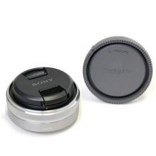 NEX 시리즈 카메라 용 Sony SEL16F28 E 16MM F2.8 광각 렌즈 사용