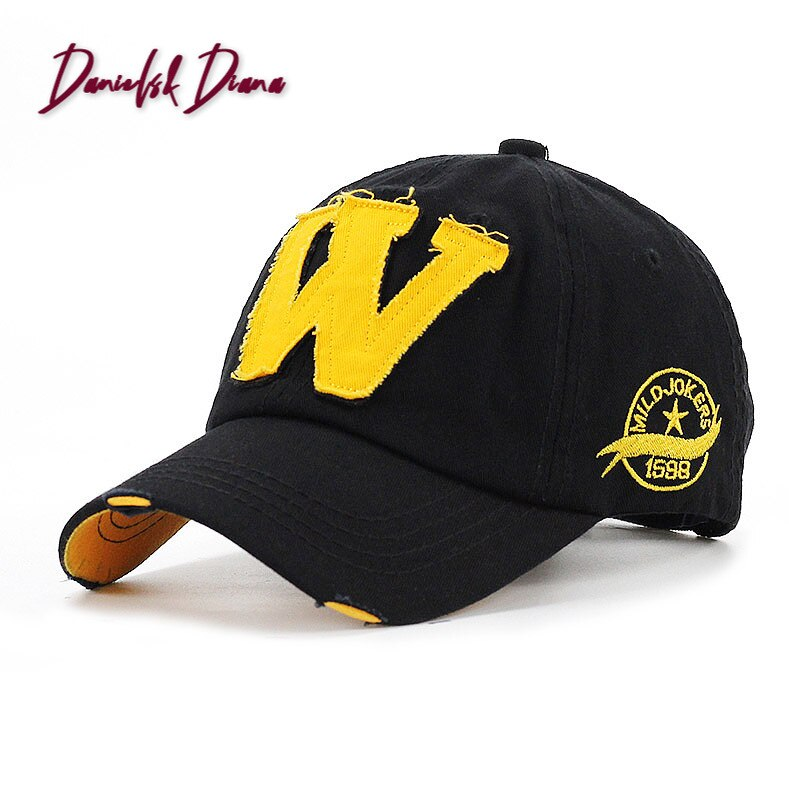 NEW Retro Men Baseball Cap Women Hat Hip Hop Hat For Men Women Baseball Hat Letter W Hip Hop Snapback Cap Bone Adjustable недорого