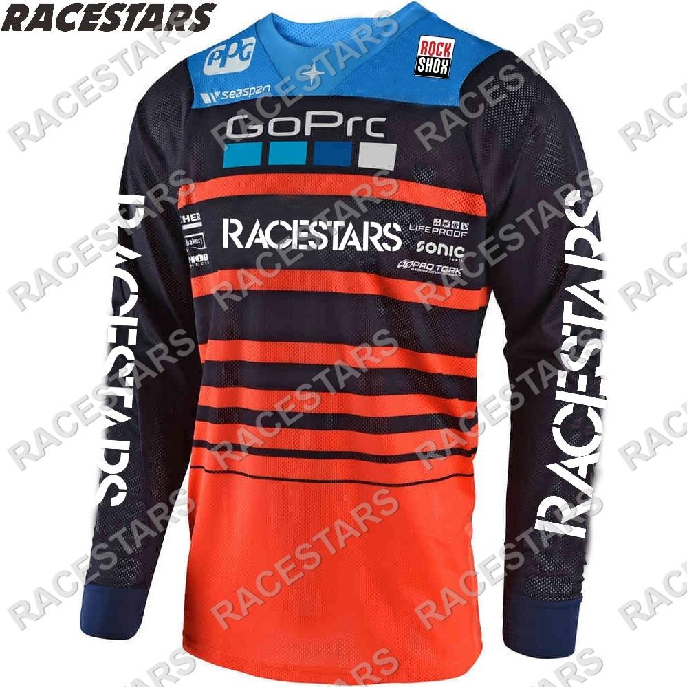 2021 MTB Jersey Enduro camiseta de Motocross Maillot Hombre DH Moto MX...