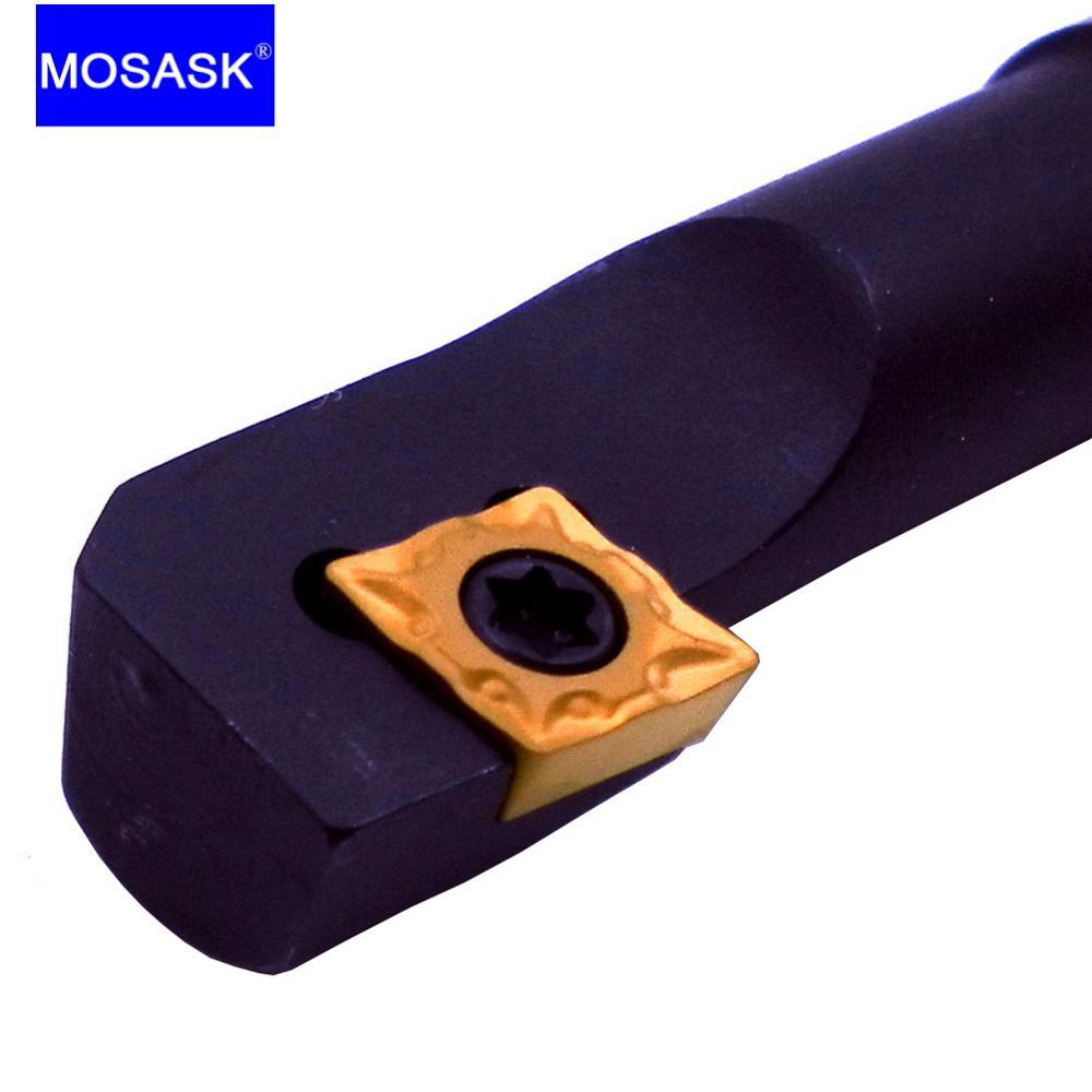 MOSASK SCZCR Cutting Toolholders S10K-SCZCR06 Boring Cutter Shank CNC Lathe Inner Hole Internal Turning Tool Holders