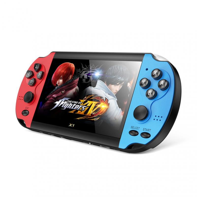 Handheld Portable Game Console 4.3 Inch Dual Joystick 8GB Preloaded 10000 Free Games Support TV Out Video Game Machine enlarge
