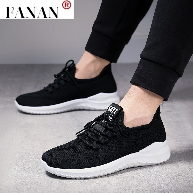 2021 Mesh Men Shoes Casual MenS Sneakers Breathable Outdoor Fashion Man Comfort For