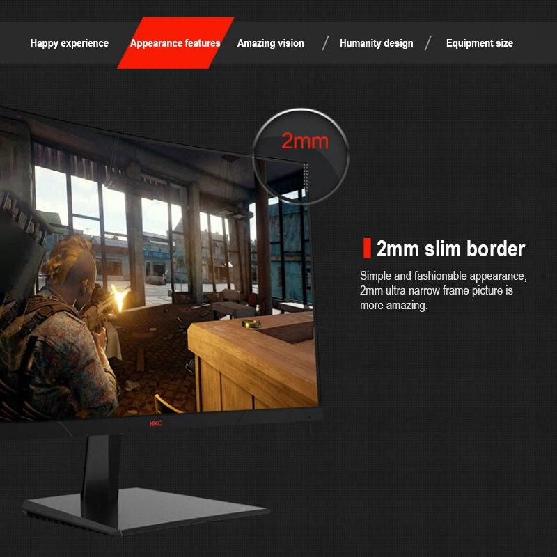 US Captain HKC 27-inch Curved Gaming Monitor VA Panel 144Hz Gaming Computer LCD Monitor GF70 enlarge