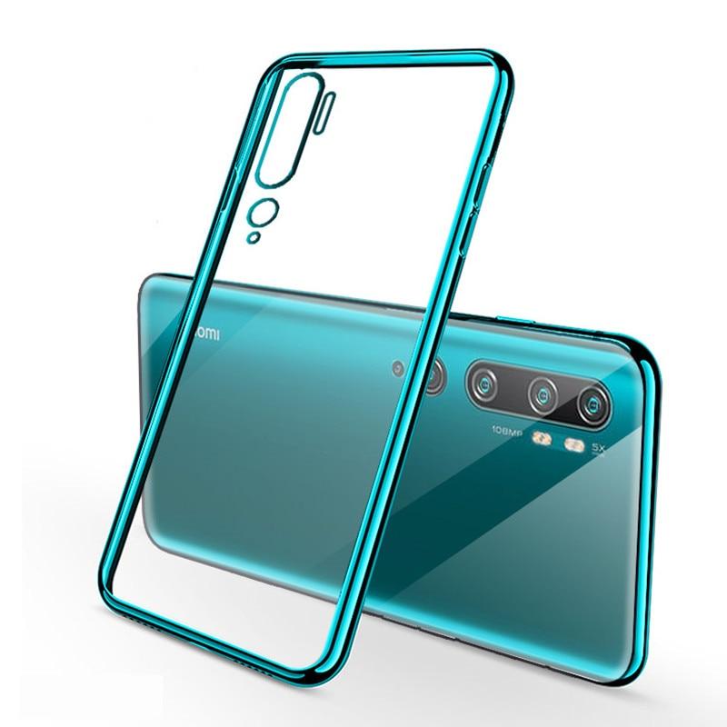 Phone Case for Xiaomi Mi Note 10 Case Cover Luxury Bumper Back Clear Case for Xiaomi Mi CC9 Pro Note 10 Pro Global Version Case