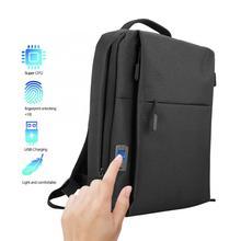 Fipilock-sac à dos Anti-vol   Portable, intelligent, USB, empreinte digitale, en vogue