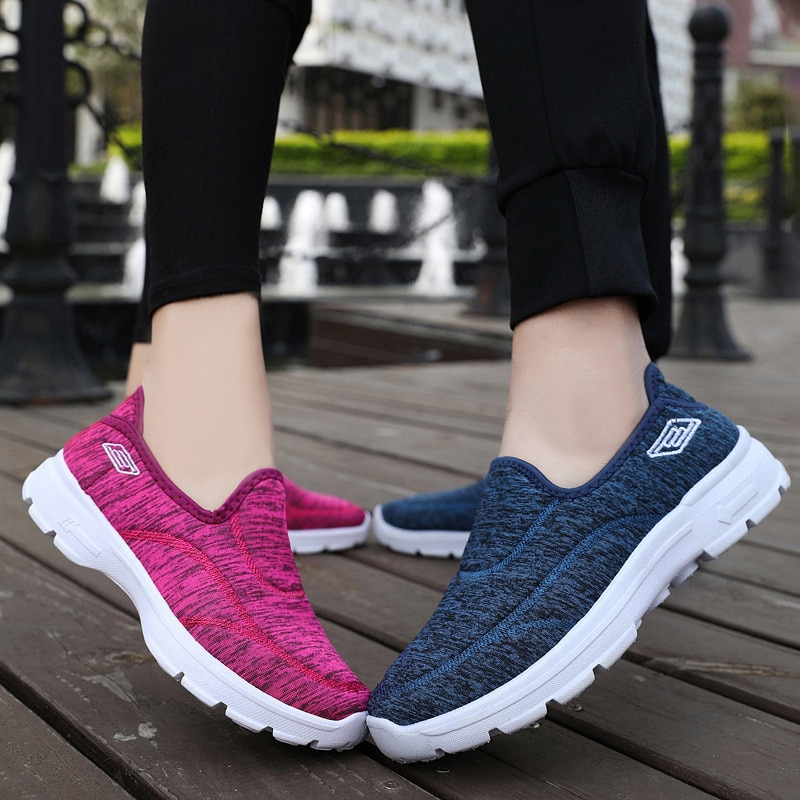 SYNXDN 2021 New Autumn Fashion Couple shoes WOMEN SHOES Casual Sport Lace Up Walking Shoes Breathabl