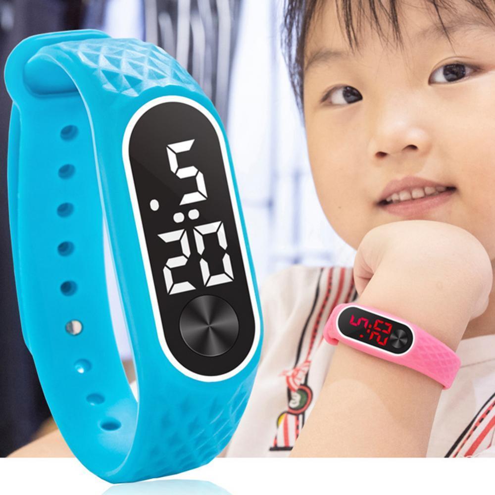 Children's Watch LED Outdoor Sport Digital Waterproof Clock For Boys Girls Multifunction Electronic