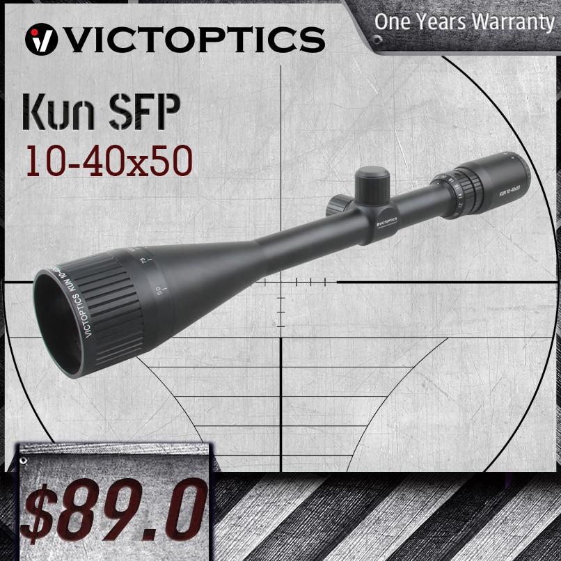 Victoptics Kun 10-40x50 AOE Rifle Scope 1/8 MOA 25.4mm 1