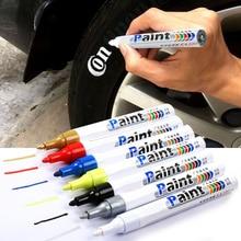 צבע מנקה רכב גלגל צמיג שמנוני ציור עט אוטומטי גומי צמיג לקים מתכת קבוע סמן גרפיטי מגע שריטה רטוב שעווה