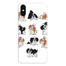 lovely Shih Tzu puppy dogs For Xiaomi Mi6 Mi 6 A1 Max Mix 2 5X 6X Redmi Note 5 5A 4X 4A A4 4 3 Plus Pro Silicone Phone Cover Bag