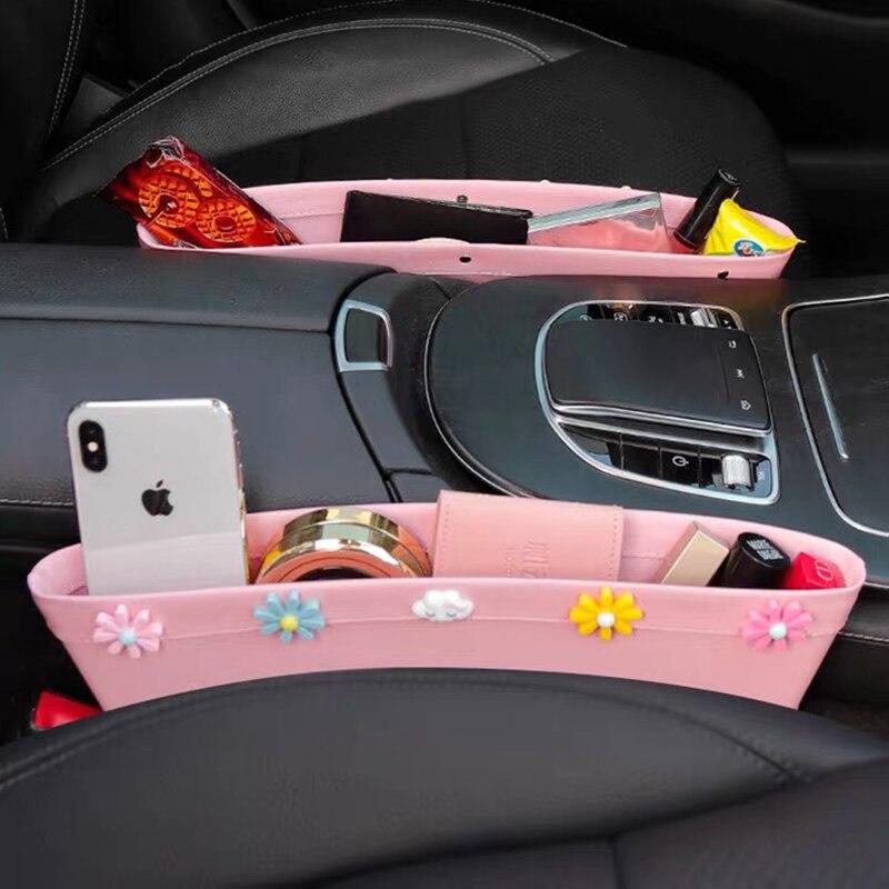 Автомобильные аксессуары интерьер автомобильный ящик для хранения сиденье зазор автомобильный органайзер карман для карт для мелочей авт...