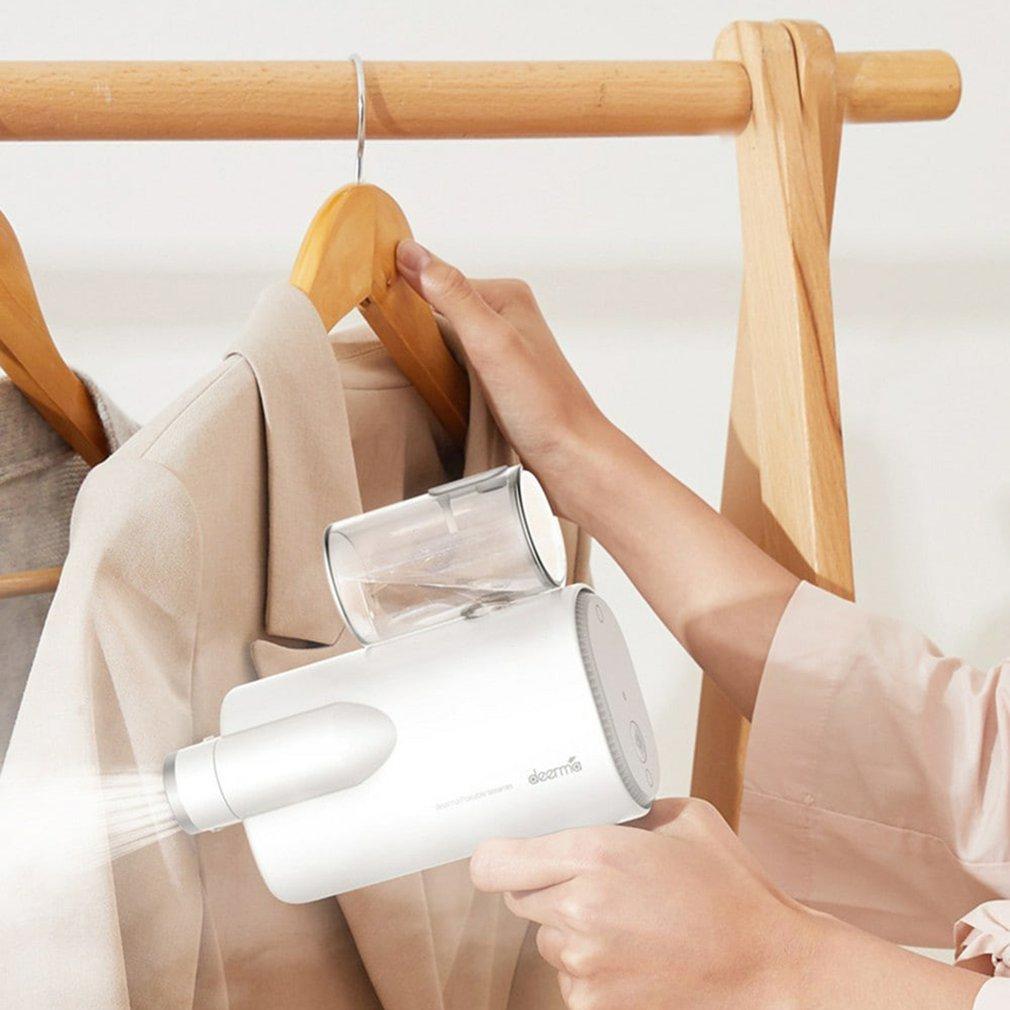 Deerma مُبخّر ملابس محمول يدويًا HS006 220 فولت حديد محمول صغير سفر قابل للطي ملابس باخرة أجهزة منزلية