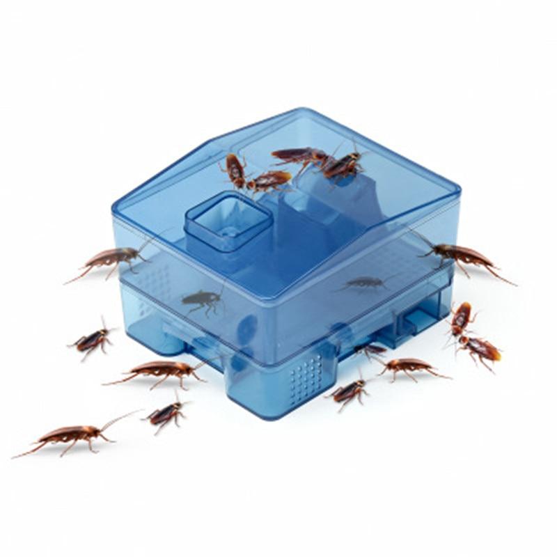 4Pc Cockroach Trap Safe Efficient Anti Cockroaches Killer Bait Large Repeller Pest Control No Pollut