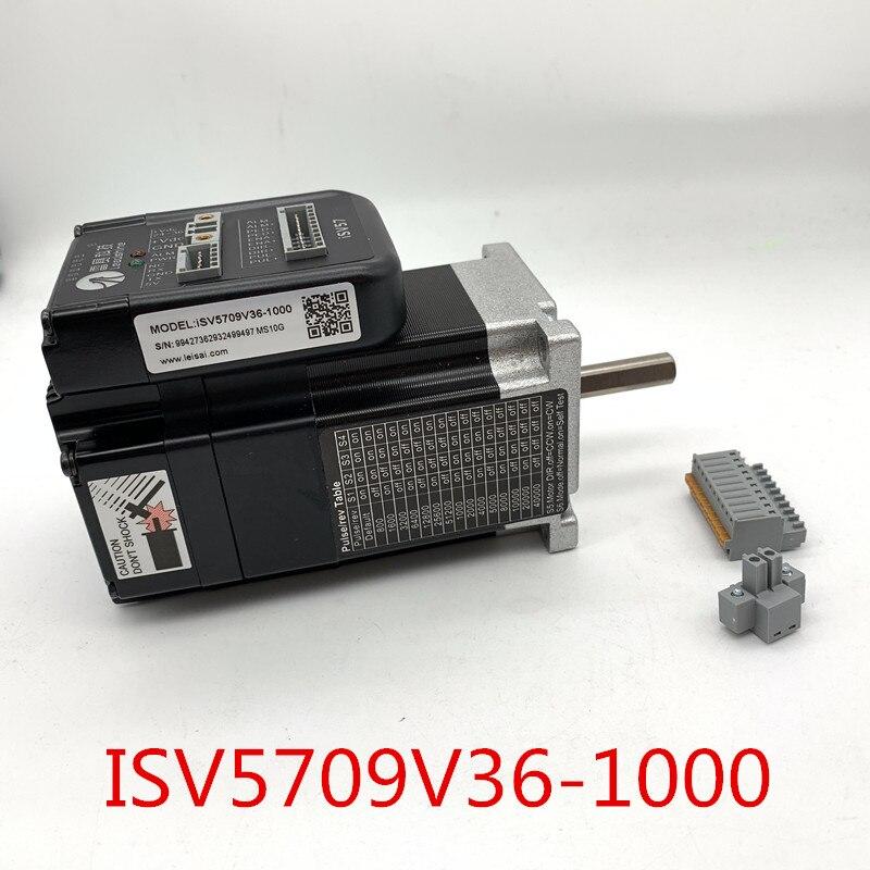 Servomotor integrado NEMA23 ISV5709V36-1000 de 90W, servomotor ISV-B23090 velocidad nominal de 3000RPM con codificador de 1000 líneas