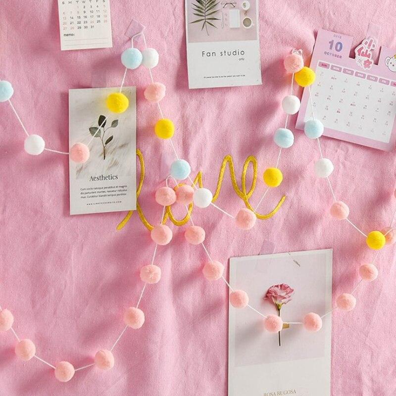 Декоративный банер для детской комнаты, 2,5 м, цвета макаронных изделий, украшения для детской комнаты, бамперы для постельных принадлежностей, Детские праздничные флаги, декор для детской комнаты