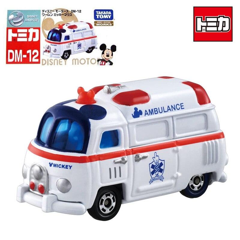 TAKARA TOMY TOMICA Disney Motors Works Pixar Cars Dream Star Classic Minnie Diecast Metal Alloy Vehicle Model Toys DM-12