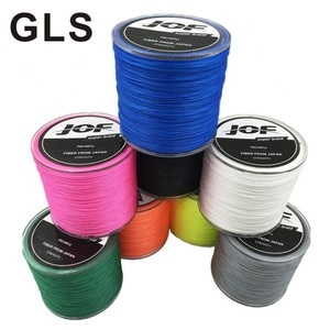 GLS brand 4 braided PE Dali horse 100 meters pull strong wear-resistant anti-bite fishing line