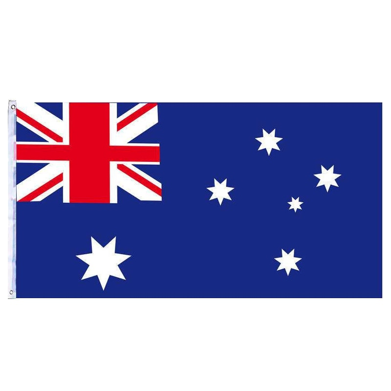 1PSC 90*150 cm AUS Flag AU Australia Australian National Flag For Home Decoration