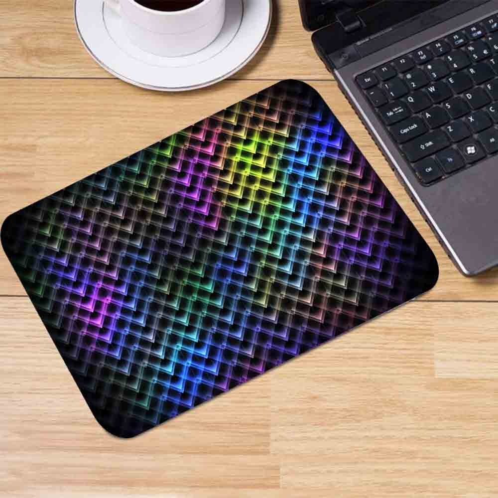 Small Mouse Pad Color Background 180x220x2mm /250x290X2mm Mouse Pad Game Accessories Laptop Office Keyboard Pad Square Mouse Pad maiyaca 2018 new persian rugs mouse pad gamer play mats size for 180x220x2mm and 250x290x2mm small mousepad