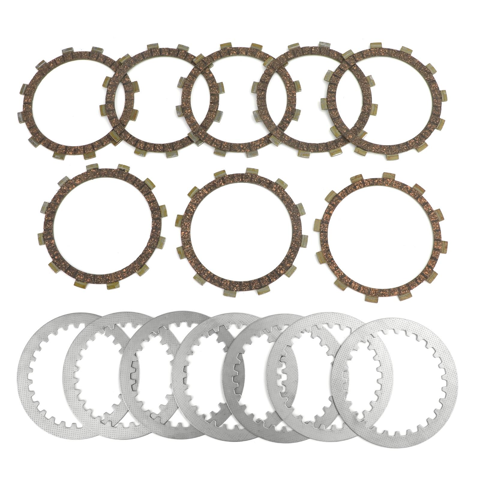 Kit de embrague Artudatech de acero y placas de fricción compatibles con Yamaha 5Y1-16321-00 XT550 5Y3 XT550J