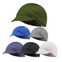 quick dry lycra cycling hat men women helmet liner headwear under helmet cap road bike headband sport bicycle riding bandana
