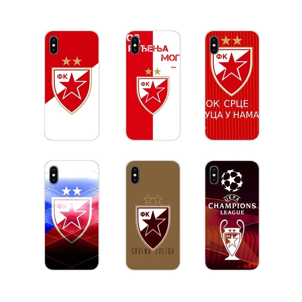 Serbia FK Crvena zvezda аксессуары чехлы для телефонов samsung A10 A30 A40 A50 A60 A70 Galaxy S2 Note 2 3 большое ядро Prime