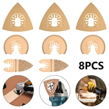 5/6/8PCS Carbide Oscillating Tool Saw Blades For Quick Change Multi-Tools Tile Prorous Concrete Cement Ceramics Cutter