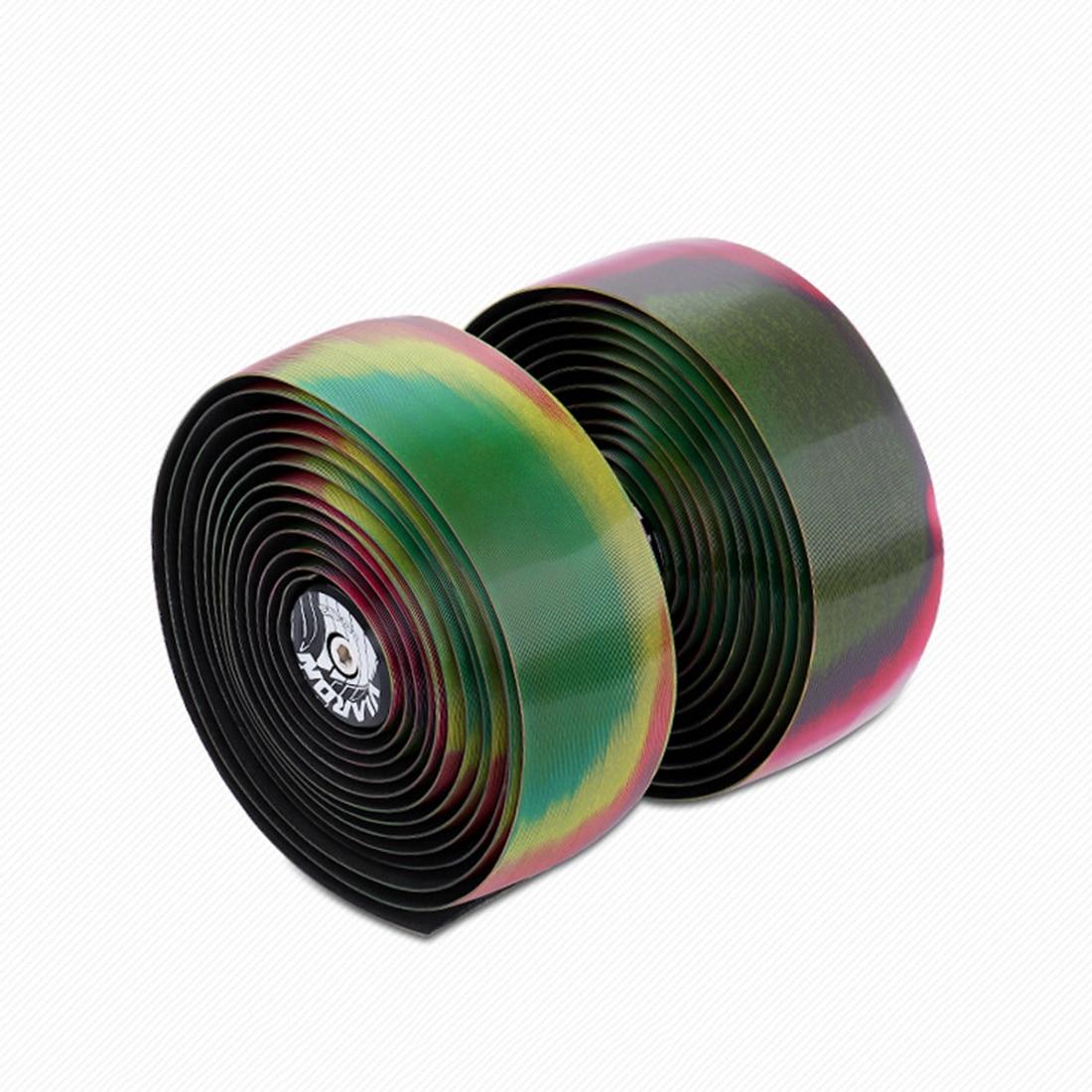 BOLAN Handlebar Bicycle 5D Rainbow Bar Tape Shock Absorption Practical