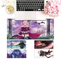 designer seraph of the end gaming mouse pad gamer keyboard maus pad desk mouse mat game accessories for overwatch