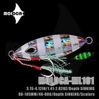 fishing accessories lure jig metal sinking weights 60 80g iscas artificiais glow in the dark baits peche a la carpe fish leurre