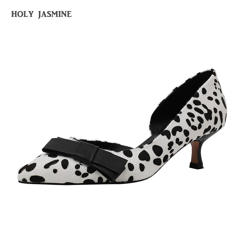 2021spring Autumn Sexy Women Shoes High Heels 5CM Elegant Office Pumps Shoes Women Animal Print Pointed Toe Luxury Singles Shoes
