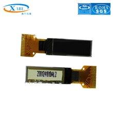 XABL 0.63 pouces OLED Module résolution 128*38P OLED Module daffichage IIC SSD1312 14pin sortie dusine taille personnalisée