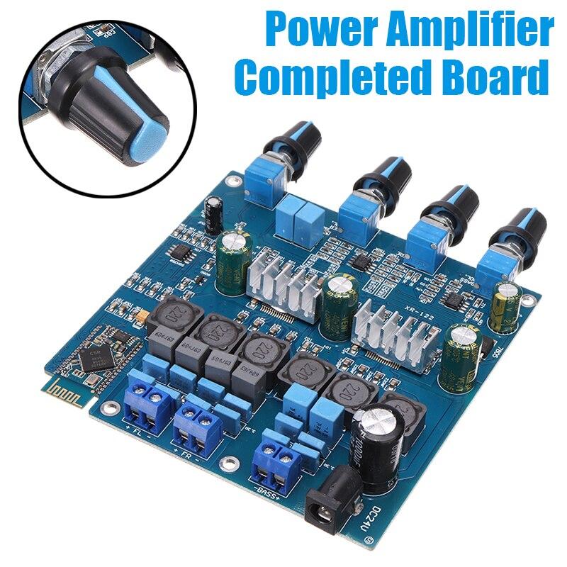 TPA3116, placa amplificadora de potencia Digital, canal estéreo, Clase D, HiFi, altavoz, bluetooth, receptor de Audio, Amplificador, placas completas