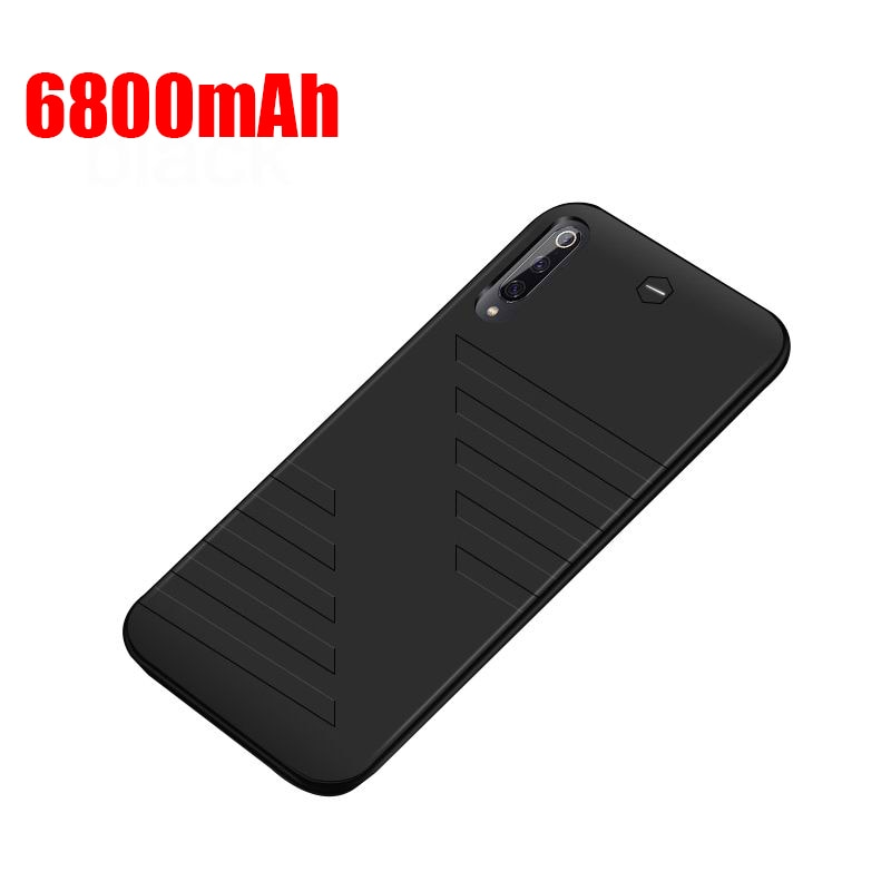 Funda de cargador de batería de 6800mAh para Xiaomi Mi 9 8 SE Redmi K20 Pro, funda de carga de batería externa para Xiaomi Redmi K20Pro