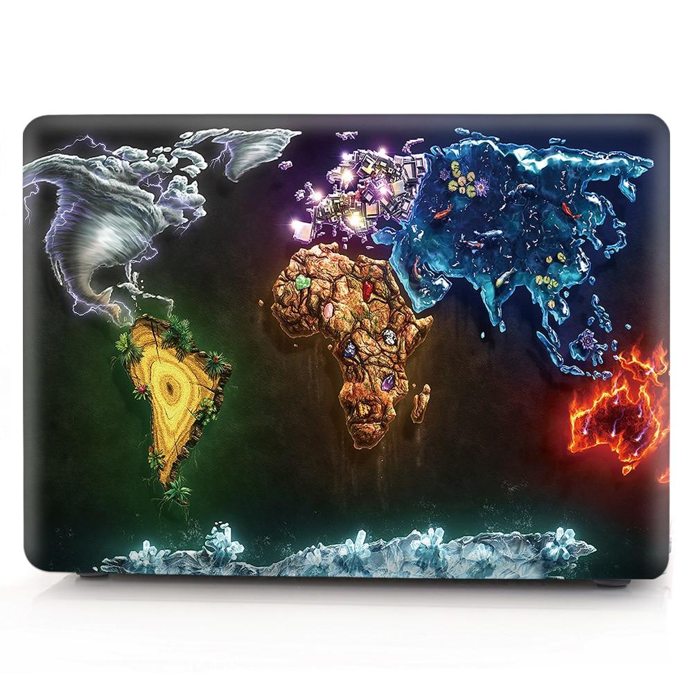 Чехол с картой мира для Huawei Matebook D14 D15 2020, чехол из ПВХ по индивидуальному заказу для Huawei Mate 13 14 X Pro 13,9 Honor Magicbook 14 15