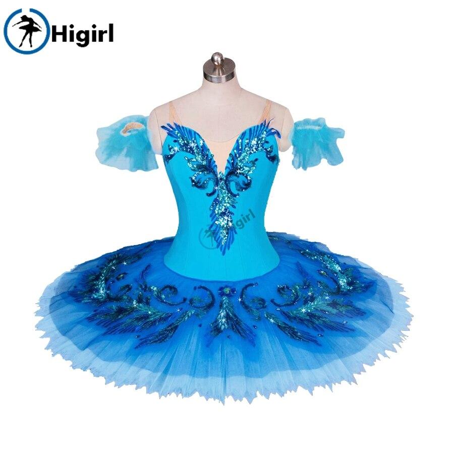 blue bird ballet tutu for girls ballet costumes professional classical ballet tutus  nutcracker ballet costumes BT9027