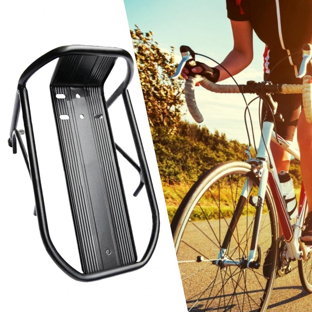 Simple Useful Bike Rear Cargo Rack Equipment Stand Convenient Bicycle Pannier Rack Long Lasting Bicycle Accessories