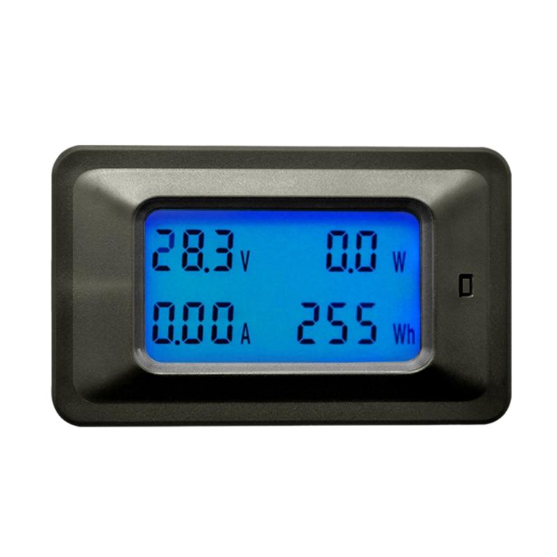 GYTB Dc 8-100V 0-100A Lcd Digital amperímetro con pantalla del voltímetro del multímetro de vatios de potencia energía Meterwith 100A Shunt